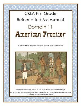 First Grade CKLA Domain 11 Frontier Explorers Alternative Assessment
