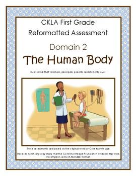 CKLA First Grade Domain 2 The Human Body Alternative Assessment