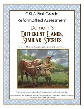 First Grade CKLA Domain 3 Different Lands, Similar Stories