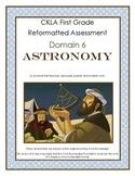 CKLA First Grade Domain 6 Astronomy Alternative Assessment