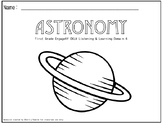 First Grade CKLA Domain 6 Astronomy Companion Packet