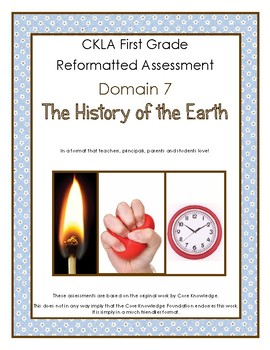 First Grade CKLA Domain 7 The History of the Earth