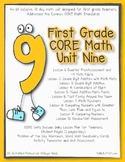 First Grade CORE Math Unit 9
