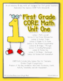 First Grade CORE Math Unit 1