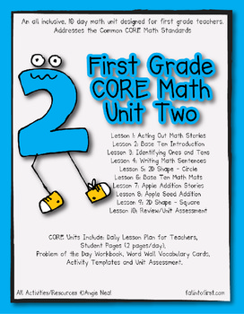 First Grade CORE Math Unit 2