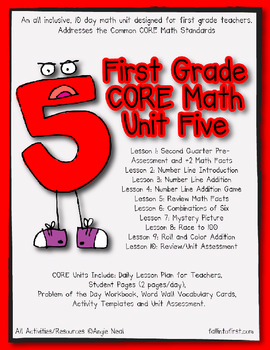 First Grade CORE Math Unit 5