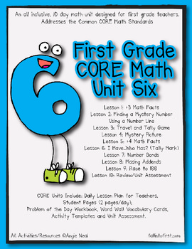 First Grade CORE Math Unit 6