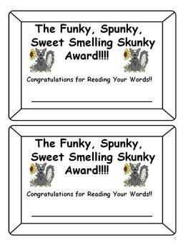 Short Vowel CVC Games: Don't Get Skunked