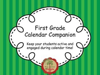 First Grade Calendar Companion