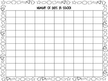 First Grade Calendar Folder Bundle