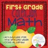 First Grade Calendar Math