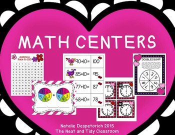 First Grade Centers {Valentine's Day}
