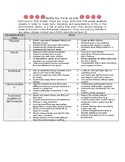 First Grade Checklist for Parents