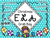 First Grade Christmas Literacy Centers