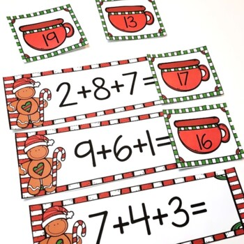 First Grade Christmas Math