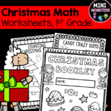 First Grade Christmas Math Booklet