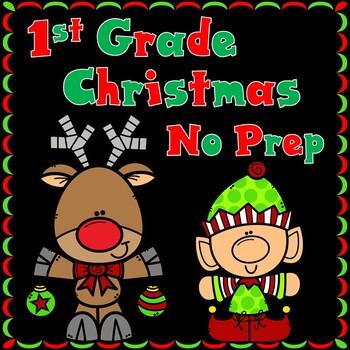 First Grade Christmas No Prep