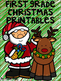 First Grade Christmas Printables