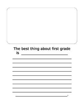 First Grade Class Book