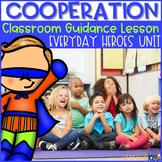 Superhero Theme Cooperation Activity for Classroom Guidance Lesson