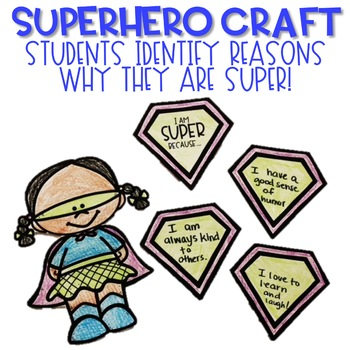 Classroom Guidance Lesson: Self-Respect: Be Your Own Super Hero!
