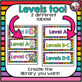 Classroom Library Labels! Plus Labels for Coding Books! 1st gr