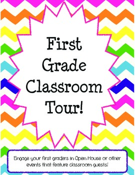 First Grade Classroom Tour for Open House