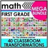 First Grade Classroom Transformations   MEGA BUNDLE