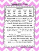 First Grade Cloze Reading Passages Set C (Passages 21-30)
