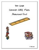 First Grade Common CORE Measurement Unit
