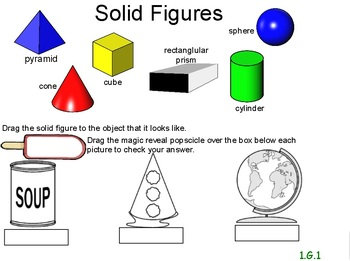 First Grade Common Core 1.G.1 3D Shapes