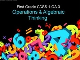 First Grade Common Core 1.OA.3 Operations & Algebraic Thinking