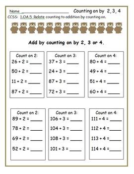First Grade: Bear Activities