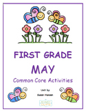 First Grade May Common Core Activities