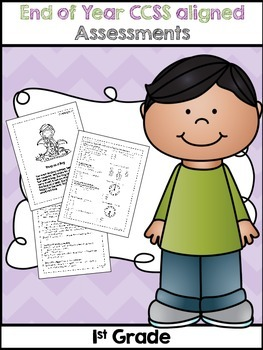 First Grade Common Core Assessment