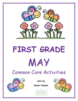 First Grade Common Core Bundle of Nine Monthly Units