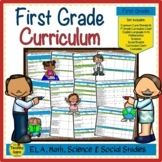 First Grade Common Core Curriculum Forms