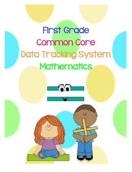 First Grade Common Core Data Tracking Math