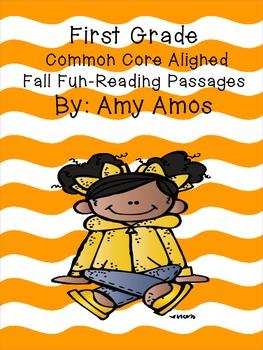 First Grade Common Core Fall Fun