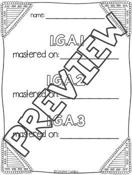Math Assessments - First Grade Geometry