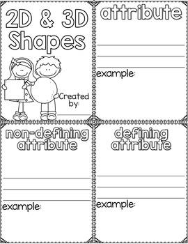 First Grade Common Core Geometry Unit BUNDLE-Games, Activities, & Mini Books
