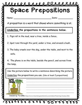 First Grade Common Core Grammar