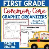 First Grade Common Core Graphic Organizers