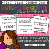 First Grade Common Core Guided Reading: Quick Starts!