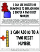 """First Grade Common Core """"I Can"""" Math Statements"""
