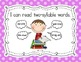 """First Grade Common Core """"I Can"""" Posters (Bright Polka Dot)"""