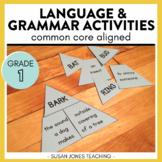 First Grade Grammar Activities & Printables [BUNDLE]