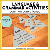 First Grade Grammar Activities & Printables [BUNDLE]