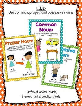 First Grade Common Core Language Activities & Printables [Part One]