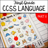 First Grade Common Core Language Activities & Printables [Part Two]